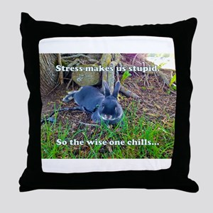 The Wise One Chills Throw Pillow