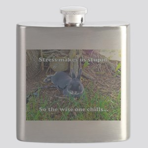 The Wise One Chills Flask