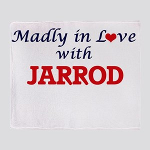 Madly in love with Jarrod Throw Blanket