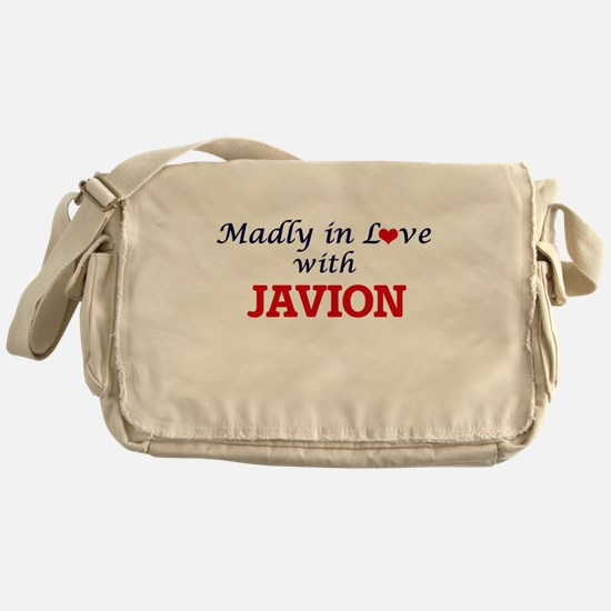 Madly in love with Javion Messenger Bag