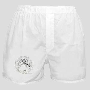 Great Holiday Owl Boxer Shorts
