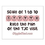 Pain of TJC Small Poster
