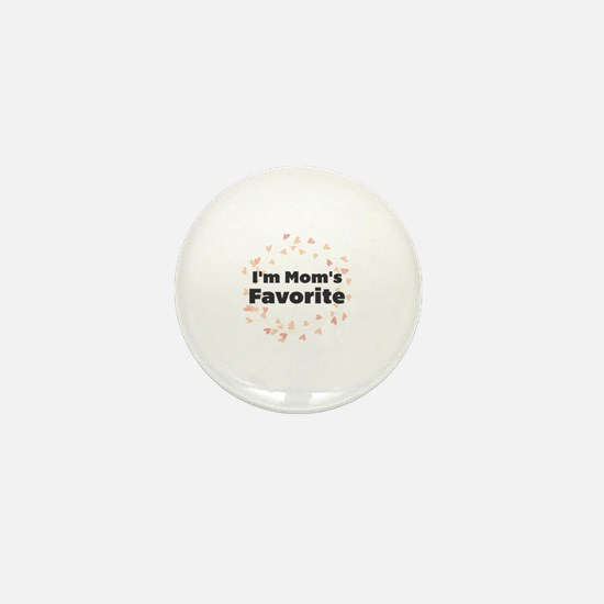 Cute Favorites Mini Button