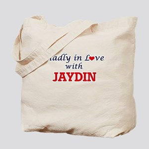 Madly in love with Jaydin Tote Bag
