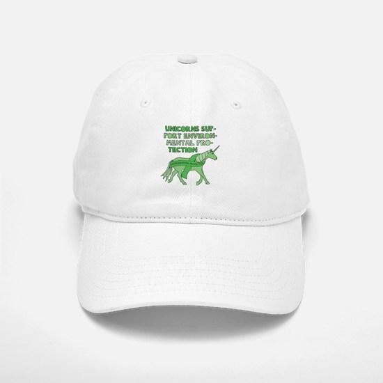 Unicorns Support Environmental Protection Baseball Baseball Cap
