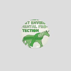 Unicorns Support Environmental Protect Mini Button