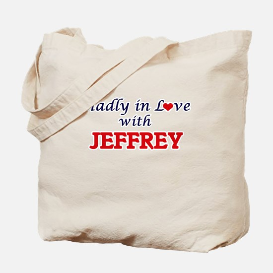 Madly in love with Jeffrey Tote Bag