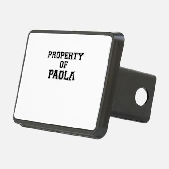 Property of PAOLA Hitch Cover
