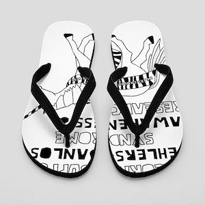 Unicorns Support Ehlers-Danlos Syndrome Flip Flops