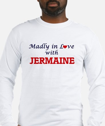 Madly in love with Jermaine Long Sleeve T-Shirt