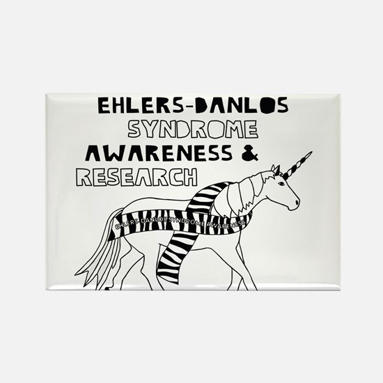 Unicorns Support Ehlers-Danlos Syndrome Aw Magnets