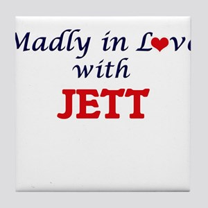 Madly in love with Jett Tile Coaster