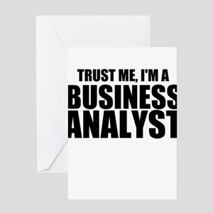 Business analyst greeting cards cafepress trust me im a business analyst greeting cards m4hsunfo