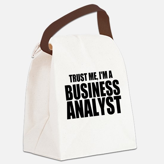 Trust Me, I'm A Business Analyst Canvas Lunch Bag