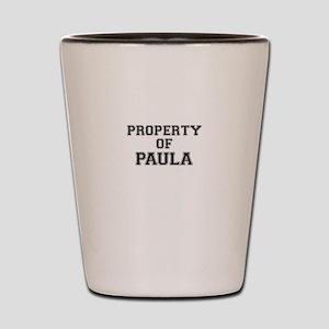 Property of PAULA Shot Glass