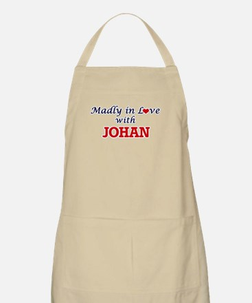 Madly in love with Johan Apron