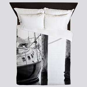 Sailboat Queen Duvet