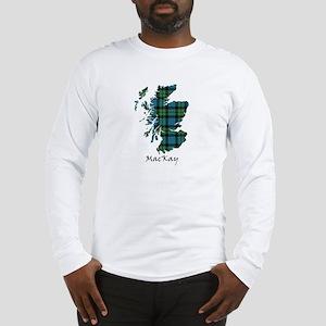 Map - MacKay Long Sleeve T-Shirt