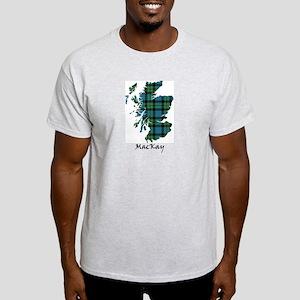 Map - MacKay Light T-Shirt