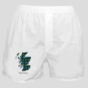 Map - MacKay Boxer Shorts