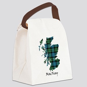 Map - MacKay Canvas Lunch Bag