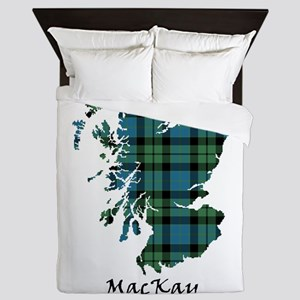 Map - MacKay Queen Duvet