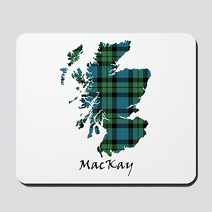 Map - MacKay Mousepad