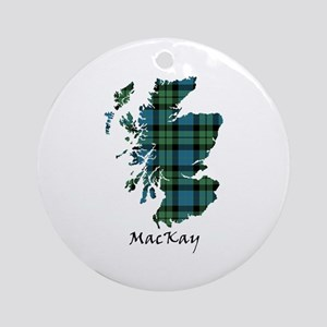 Map - MacKay Ornament (Round)