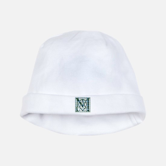 Monogram - MacKay baby hat