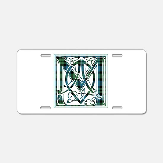 Monogram - MacKay Aluminum License Plate