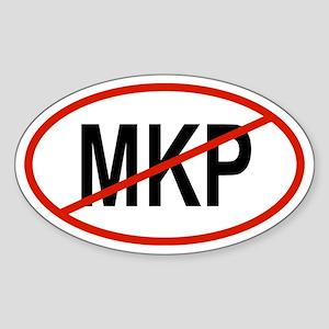 MKP Oval Sticker