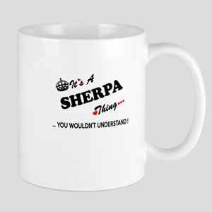 SHERPA thing, you wouldn't understand Mugs