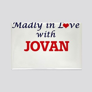 Madly in love with Jovan Magnets