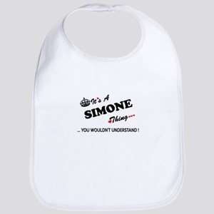 SIMONE thing, you wouldn't understand Bib