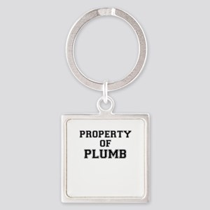 Property of PLUMB Keychains