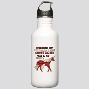Unicorns Support Head Stainless Water Bottle 1.0L