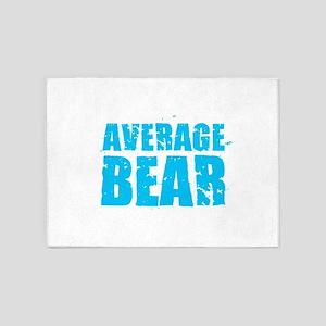 Average Bear 5'x7'Area Rug