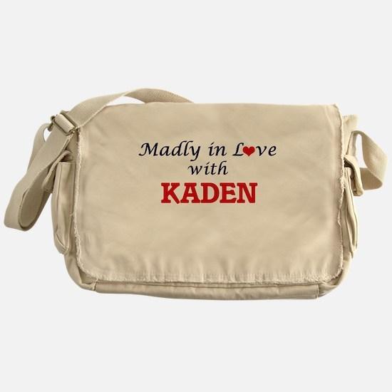 Madly in love with Kaden Messenger Bag