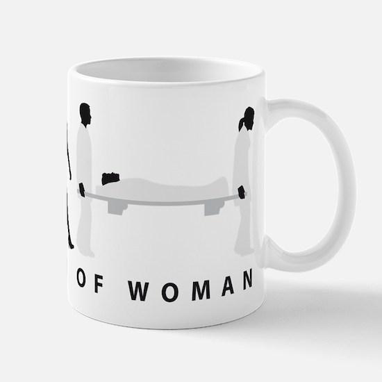 Evolution female paramedic Mugs