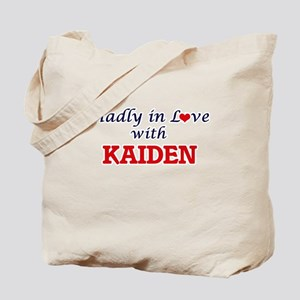 Madly in love with Kaiden Tote Bag