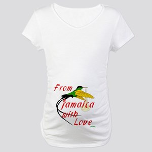 From Jamaica with Love Maternity Tee