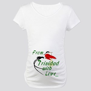 From Trinidad with Love Maternity Tee