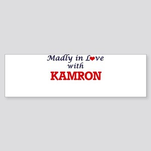 Madly in love with Kamron Bumper Sticker