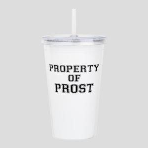 Property of PROST Acrylic Double-wall Tumbler