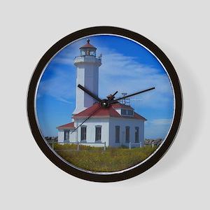Point Wilson Light Wall Clock