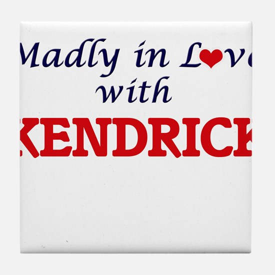 Madly in love with Kendrick Tile Coaster