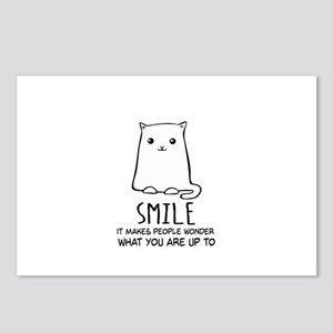 Smile - It makes People Wonder What You Are Up To