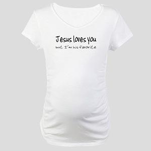 Jesus Loves You Maternity T-Shirt
