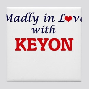 Madly in love with Keyon Tile Coaster