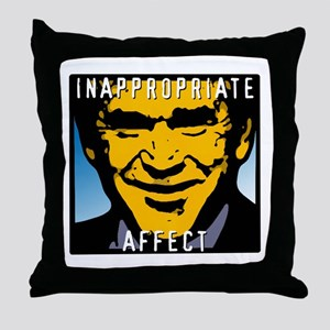 Inappropriate Affect  -Bush Throw Pillow